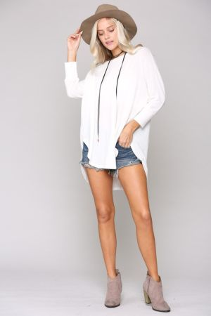 KM Oversize Long Sleeve Tunic